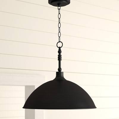 Ryker 1 Light Single Dome Pendant & Reviews | Birch Lane With Regard To Ryker 1 Light Single Dome Pendants (View 9 of 25)