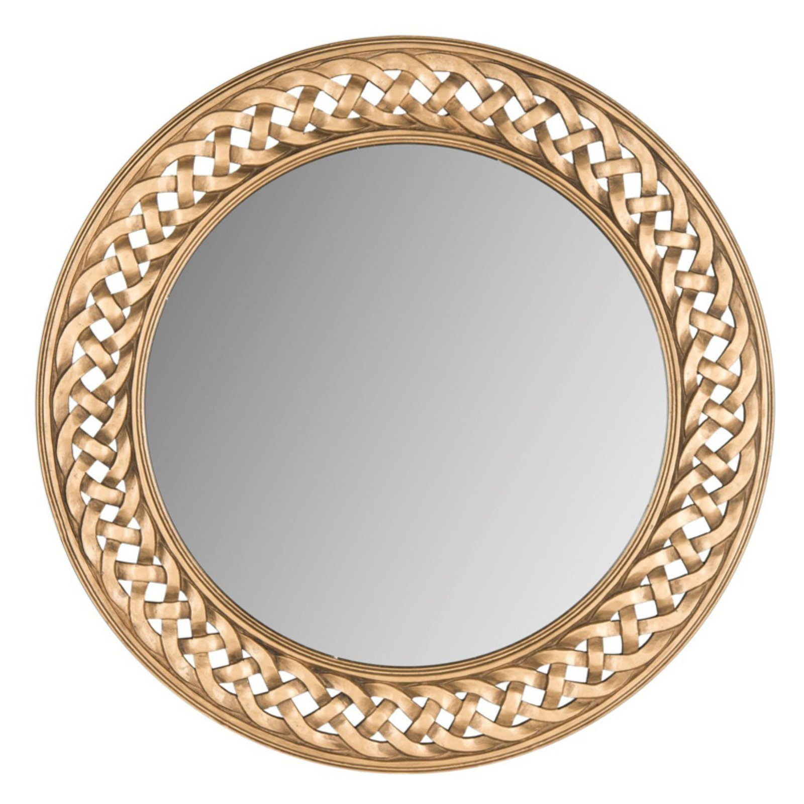 Safavieh Braided Chain Wall Mirror Gold | Products In 2019 With Alissa Traditional Wall Mirrors (View 3 of 20)