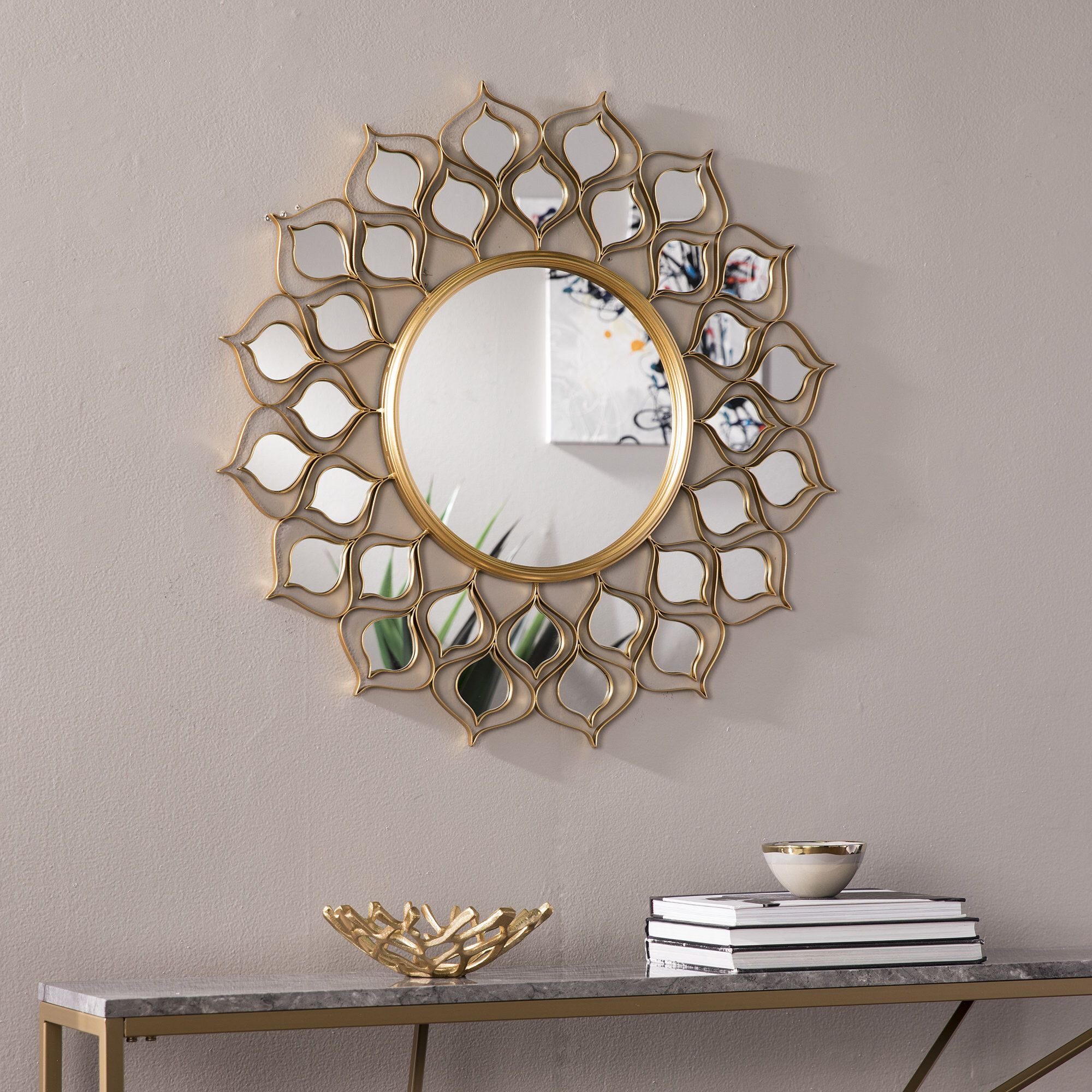Salas Accent Mirror In 2019 | I2 B7 Teen's Islamic Bedroom Intended For Kentwood Round Wall Mirrors (View 9 of 20)