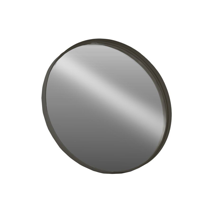Sander Metal Round Coated Accent Mirror 20 Inch Round $60 With Gaunts Earthcott Modern & Contemporary Beveled Accent Mirrors (Image 18 of 20)