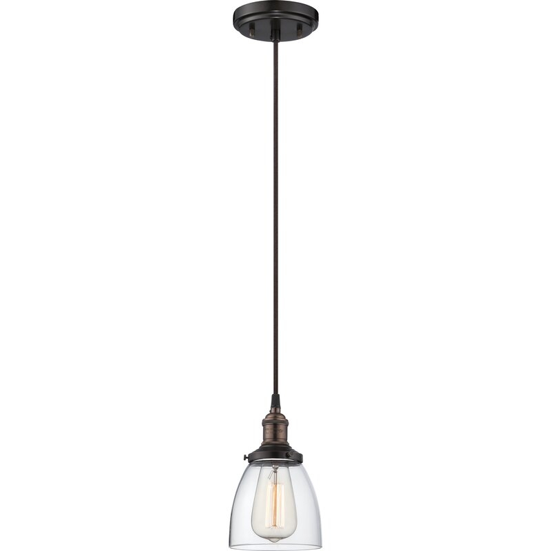 Sandy Springs 1 Light Single Bell Pendant Regarding 1 Light Single Bell Pendants (Image 17 of 25)