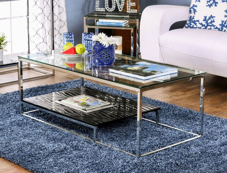 Saniya Coffee Table In 2019 | Frame Work Tables | Tempered For Carbon Loft Heimlich Metal Glass Rectangle Coffee Tables (View 14 of 25)