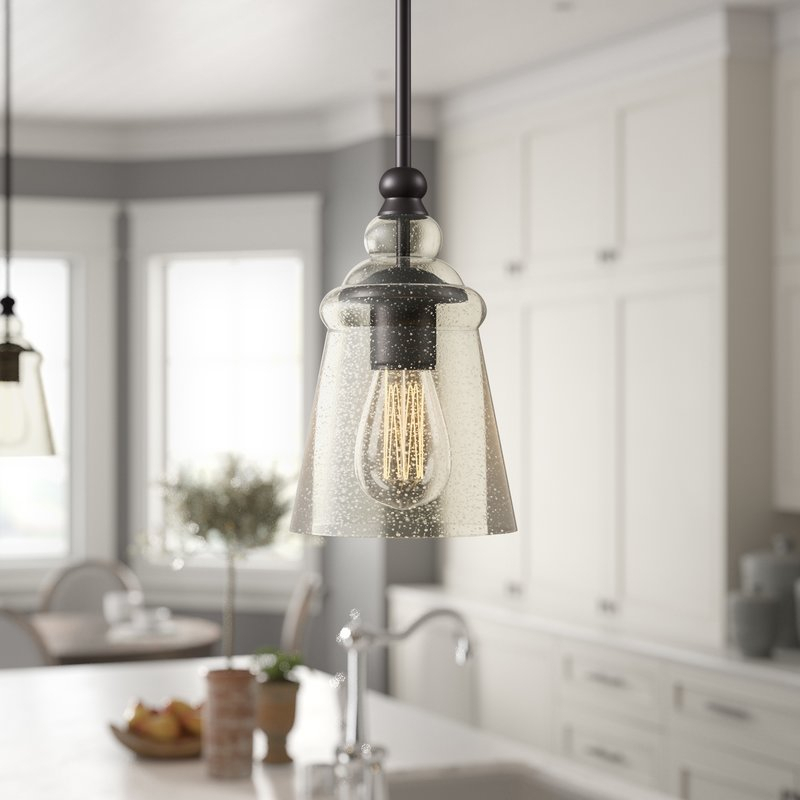 Sargent 1 Light Bell Pendant With Regard To Carey 1 Light Single Bell Pendants (View 8 of 25)