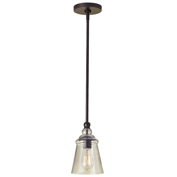 Sargent 1 Light Single Bell Pendant Inside Houon 1 Light Cone Bell Pendants (View 11 of 25)