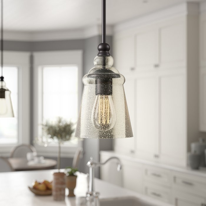 Sargent 1 Light Single Bell Pendant Intended For Houon 1 Light Cone Bell Pendants (View 21 of 25)