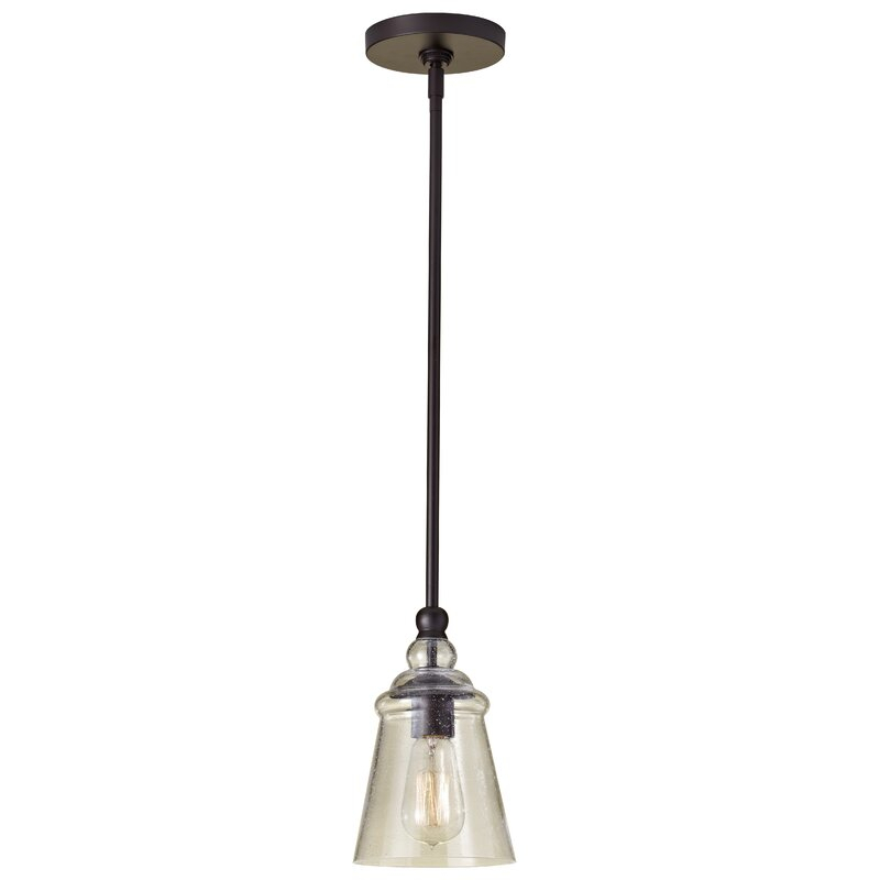 Sargent 1 Light Single Bell Pendant With 1 Light Single Bell Pendants (Image 18 of 25)