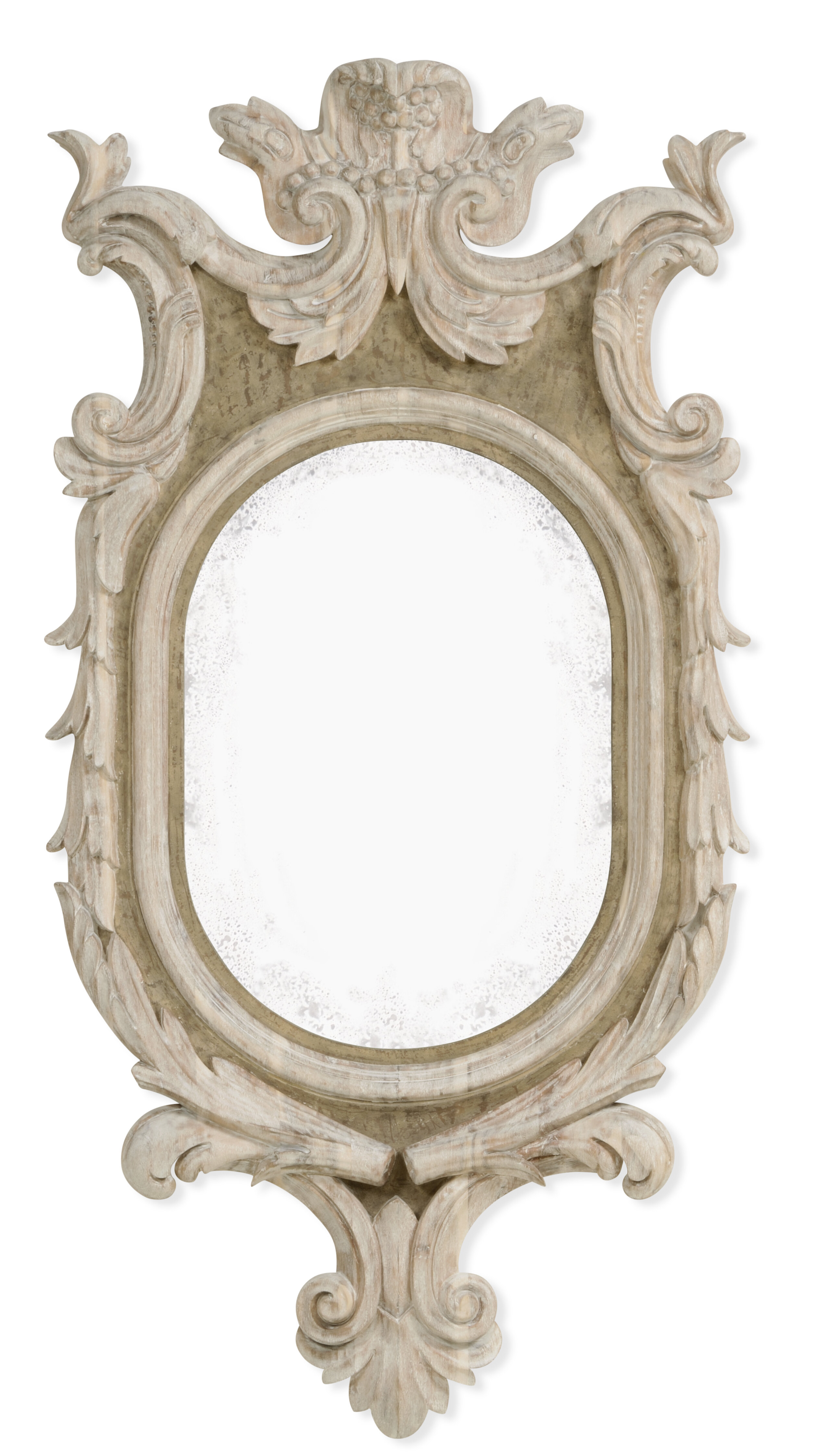 Sarno Country Accent Mirror Pertaining To Alissa Traditional Wall Mirrors (View 17 of 20)
