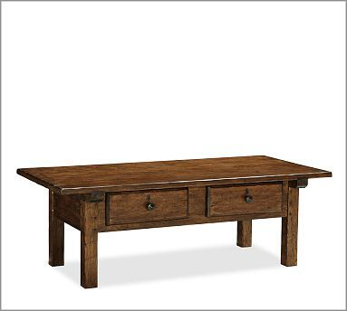 Sawyer Coffee Table #potterybarn Cozy Living Room | House For Sawyer Industrial Reclaimed Rectangular Cocktail Tables (View 16 of 50)