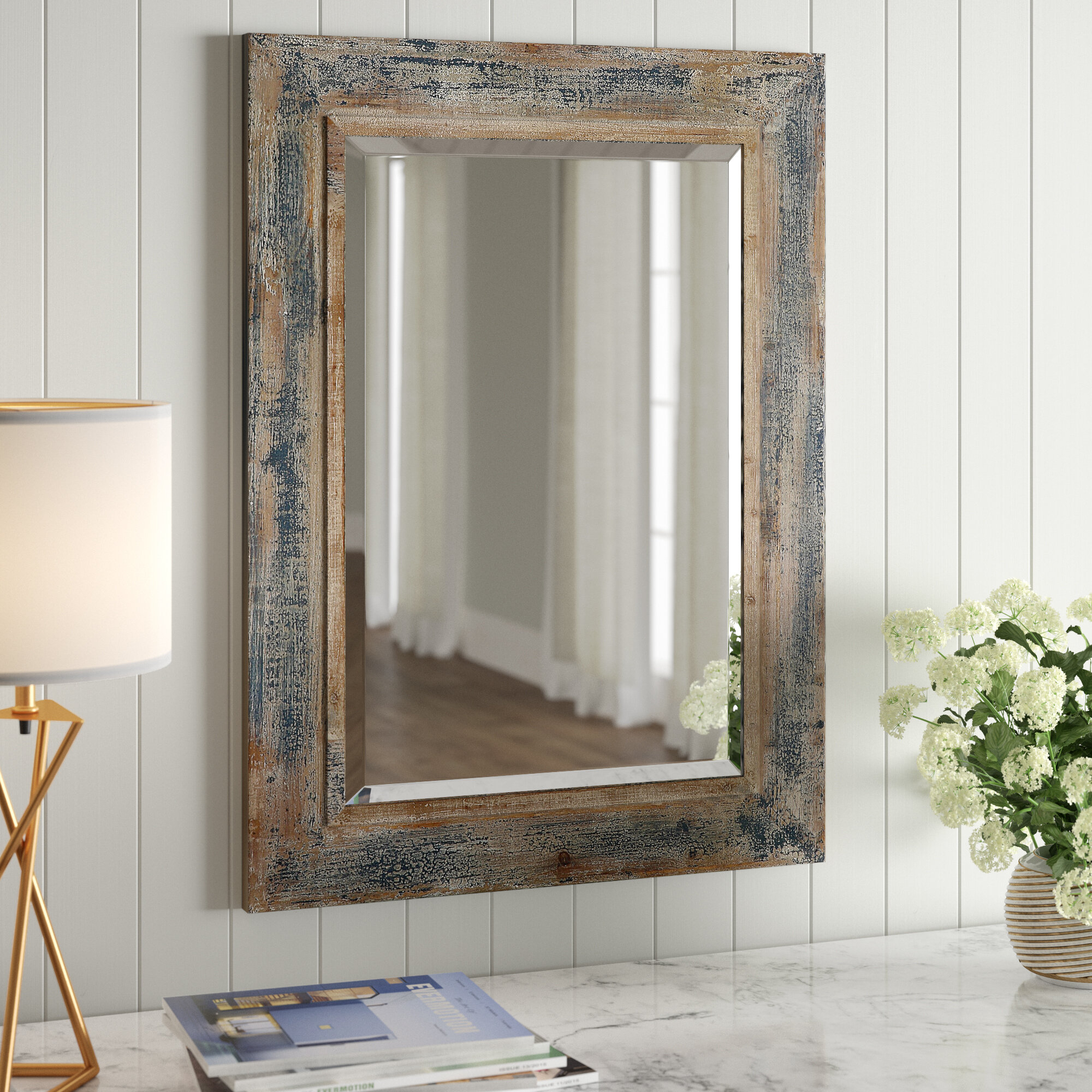 Saylor Wall Mirror | Joss & Main Intended For Janie Rectangular Wall Mirrors (Image 18 of 20)