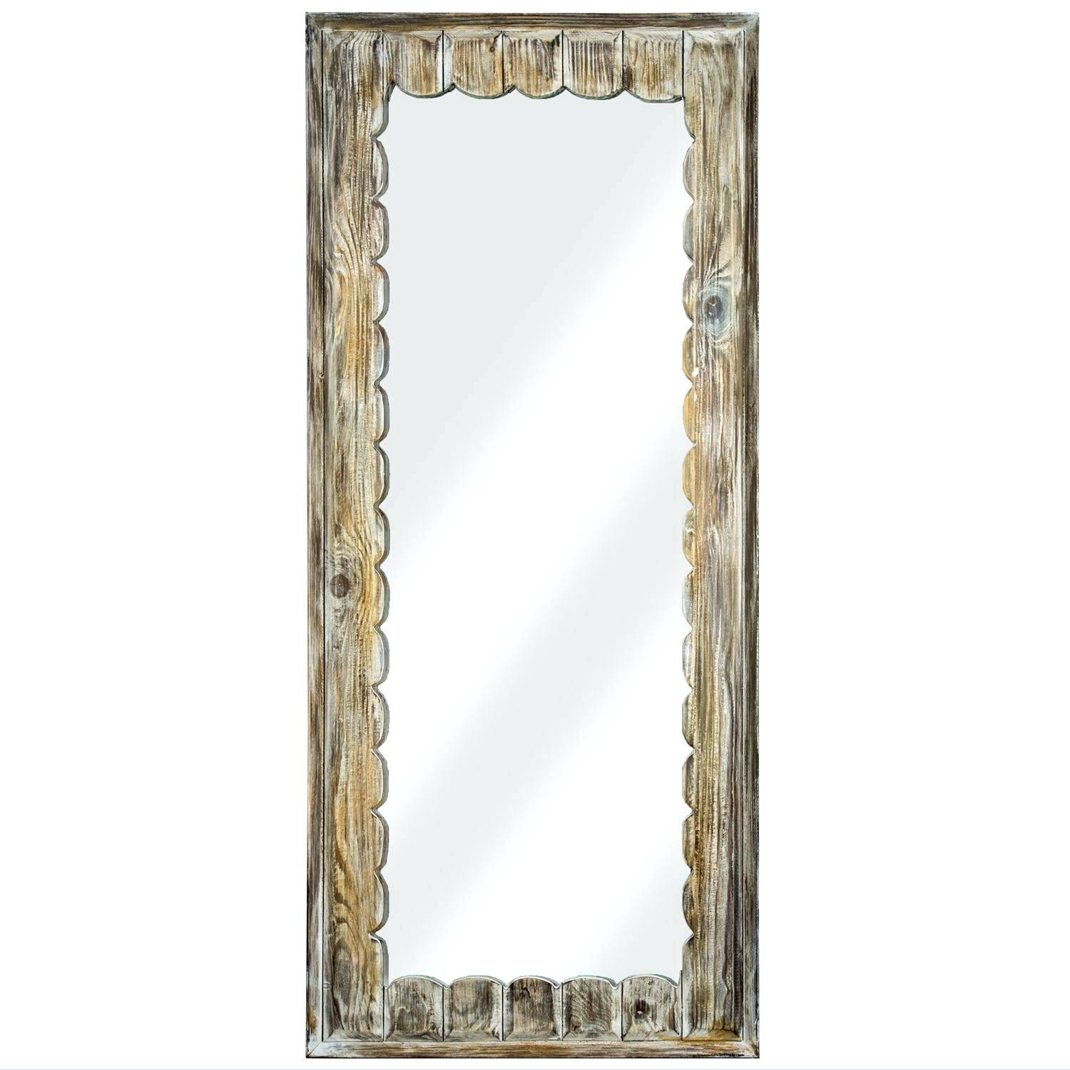 Scalloped Wall Mirror – Iorganicproducts With Regard To Reign Frameless Oval Scalloped Beveled Wall Mirrors (Image 19 of 20)