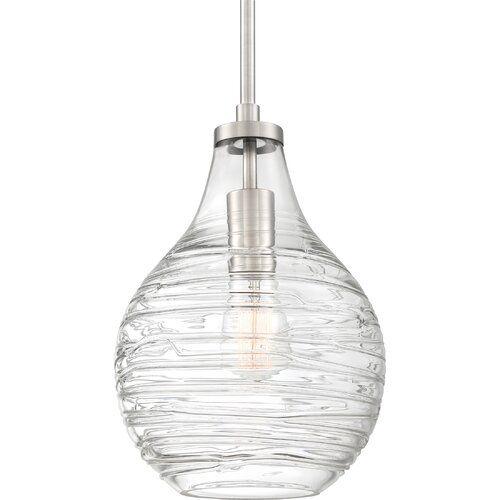 Schauer 1 Light Teardrop Pendant | Lighting In 2019 Within Devereaux 1 Light Single Globe Pendants (Image 21 of 25)