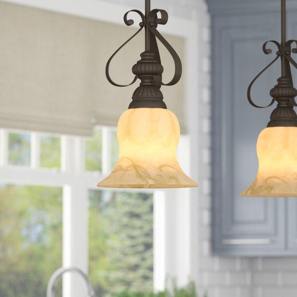 Scroll Pendant Light | Wayfair Inside Erico 1 Light Single Bell Pendants (View 14 of 25)