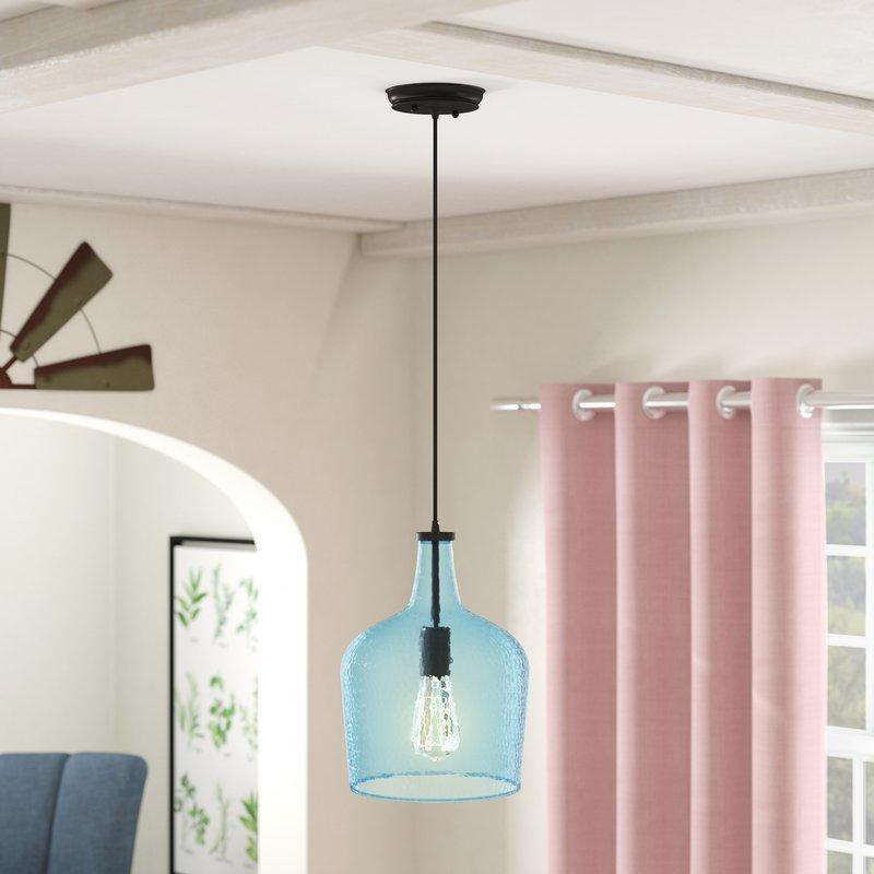Scruggs 1 Light Single Bell Pendant With Regard To Hamilton 1 Light Single Dome Pendants (Image 19 of 25)