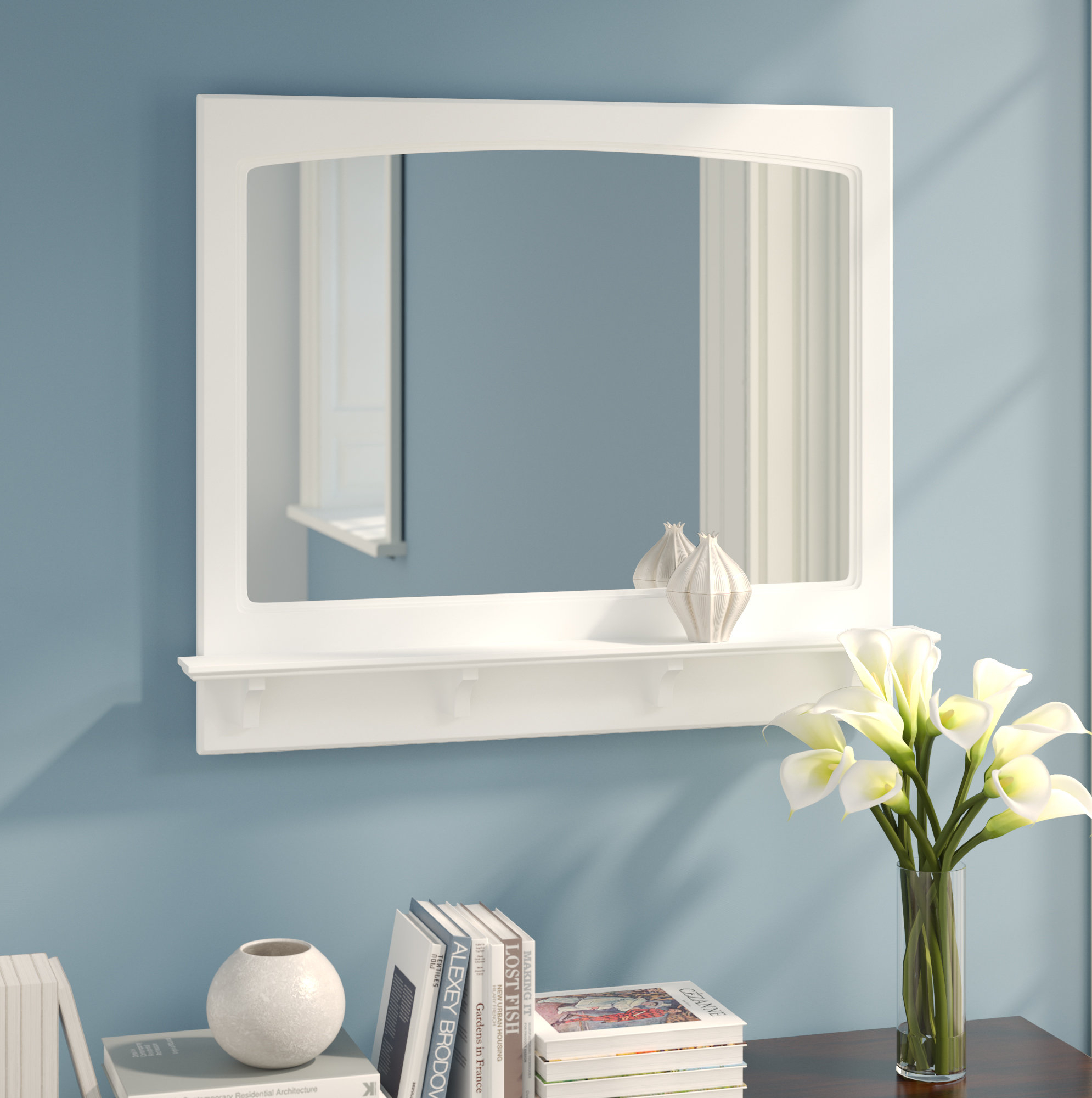 Searle Accent Mirror With Tellier Accent Wall Mirrors (Image 10 of 20)