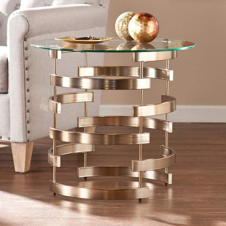Sei Ainsworth End Table | Products | End Tables, Sofa End In Silver Orchid Bardeen Round Coffee Tables (View 7 of 25)