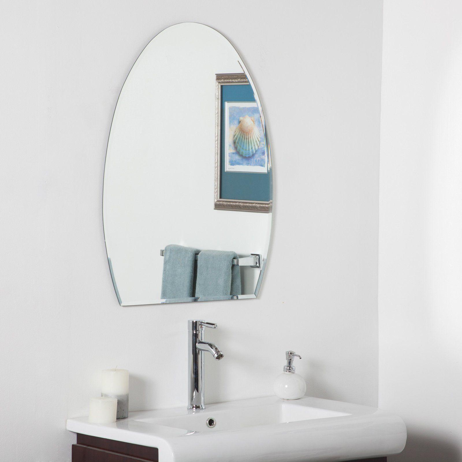 Sena Modern Bathroom Wall Mirror – 24W X 32H In (View 2 of 20)