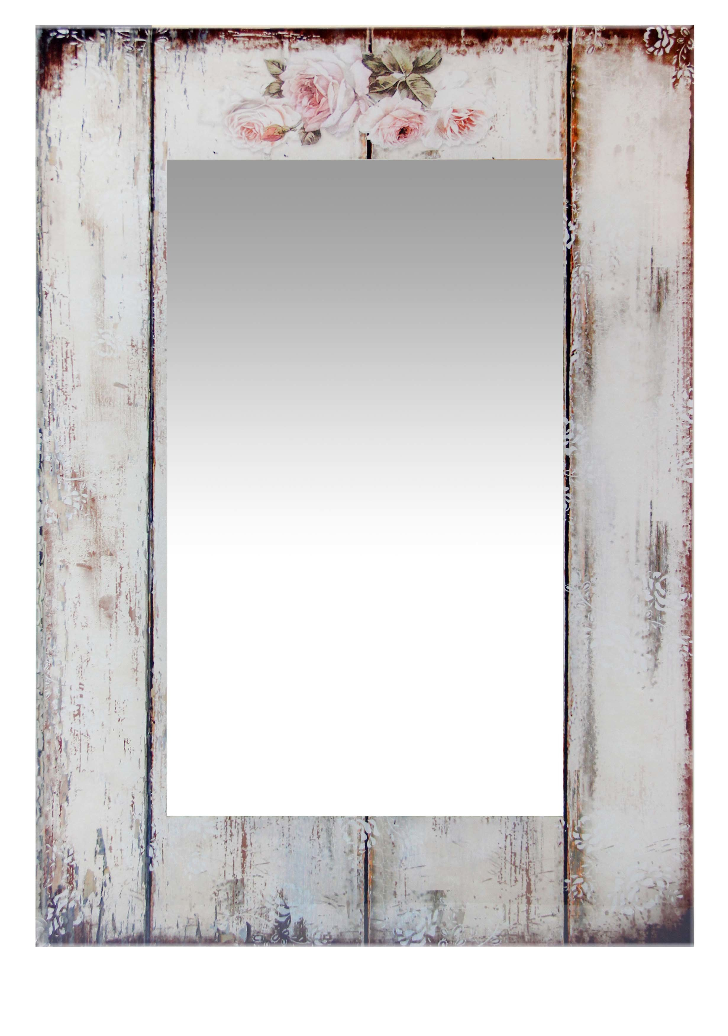 Seychella Accent Mirror Regarding Longwood Rustic Beveled Accent Mirrors (Image 13 of 20)