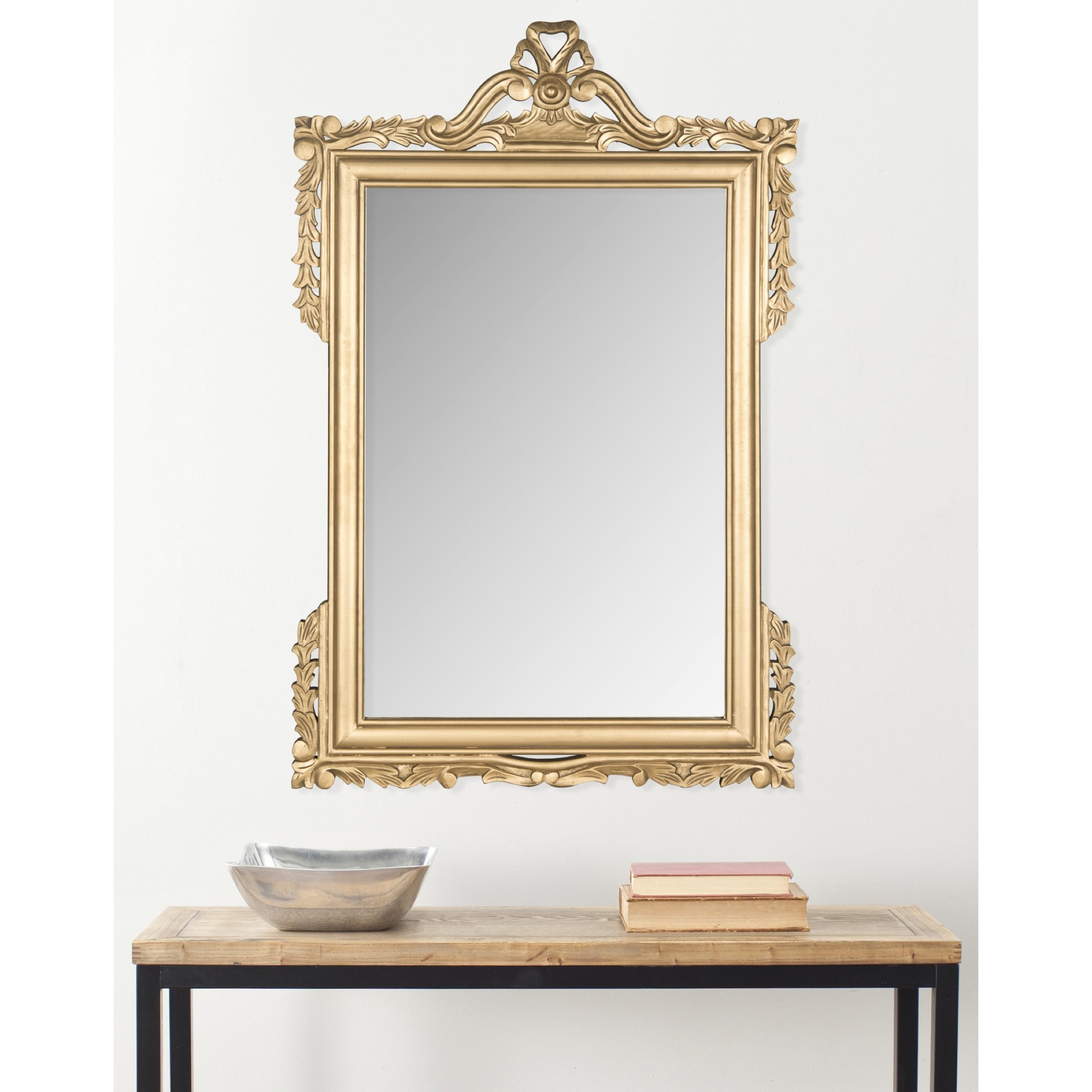 Shabby Elegance Wall Mirror | Wayfair In Epinal Shabby Elegance Wall Mirrors (Image 17 of 20)