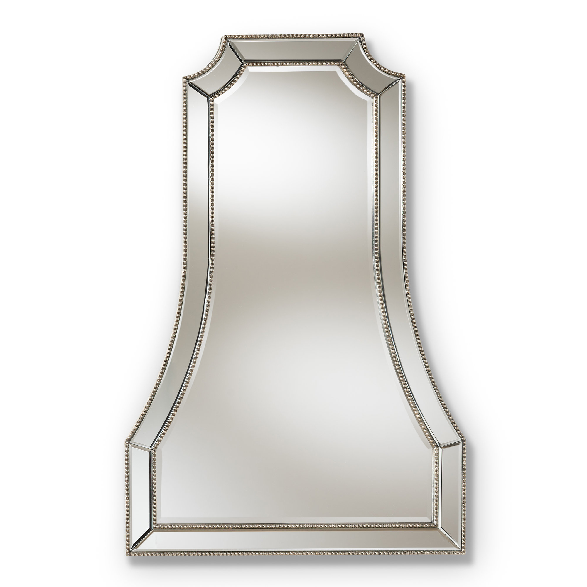 Shawnta Beveled Wall Mirror In Hilde Traditional Beveled Bathroom Mirrors (Image 17 of 20)