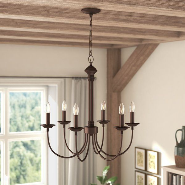 Shaylee 6 Light Candle Style Chandelier   Lighting In 2019 Intended For Shaylee 8 Light Candle Style Chandeliers (View 8 of 20)