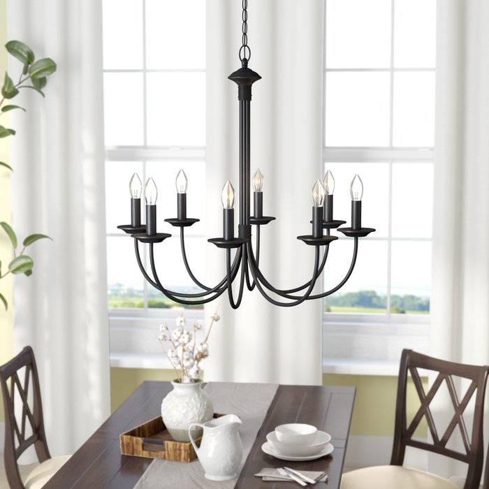 Featured Image of Shaylee 8 Light Candle Style Chandeliers