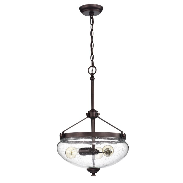 Shepparton 3 Light Single Urn Pendant With Regard To 3 Light Single Urn Pendants (Image 24 of 25)