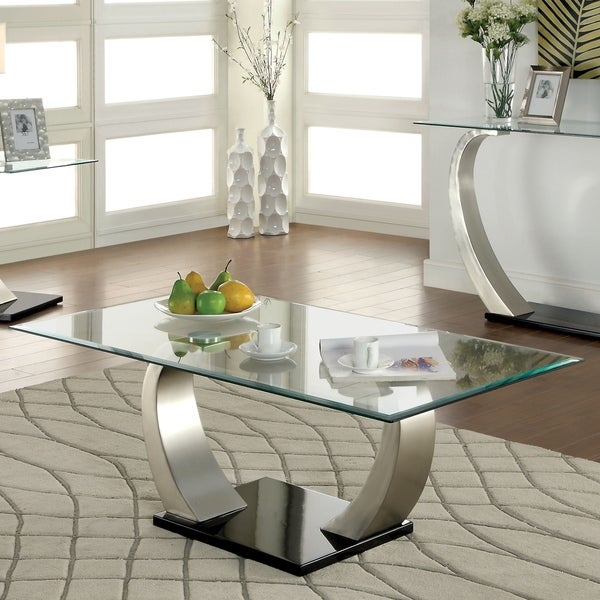 Featured Image of Carmella Satin Plated Coffee Tables
