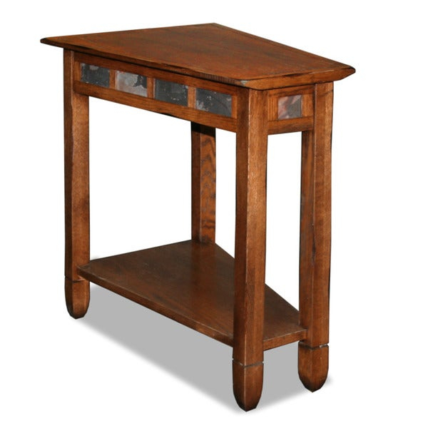 Shop Copper Grove Ixia Rustic Oak And Slate Tile Recliner For Copper Grove Ixia Rustic Oak And Slate Tile Coffee Tables (View 3 of 25)