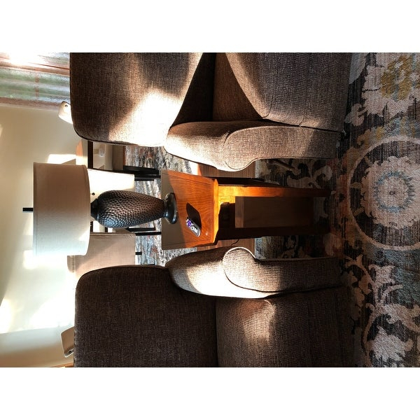 Shop Copper Grove Ixia Rustic Oak And Slate Tile Recliner Throughout Copper Grove Ixia Rustic Oak And Slate Tile Coffee Tables (View 7 of 25)