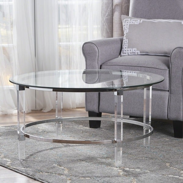 Featured Image of Elowen Round Glass Coffee Tables