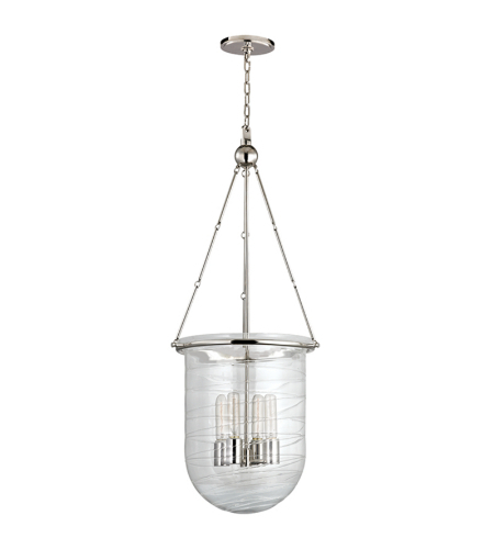Shop For Hudson Valley Lighting 214 At Foundry Lighting For Rockland 4 Light Geometric Pendants (View 16 of 25)