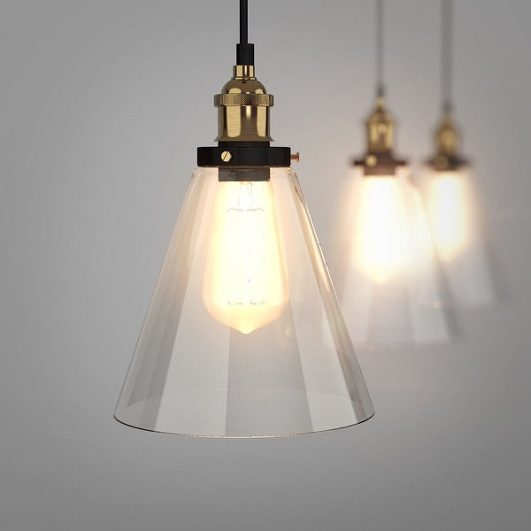 Shop Gymax Vintage Style Industrial Edison Ceiling Pendant With Vintage Edison 1 Light Bowl Pendants (View 12 of 25)