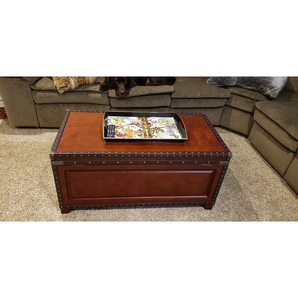 Featured Image of Harper Blvd Ailsa Trunk Cocktail Coffee Tables