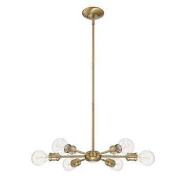 Shop Home Furniture & Décor   Havenly Throughout Eladia 6 Light Sputnik Chandeliers (View 11 of 20)