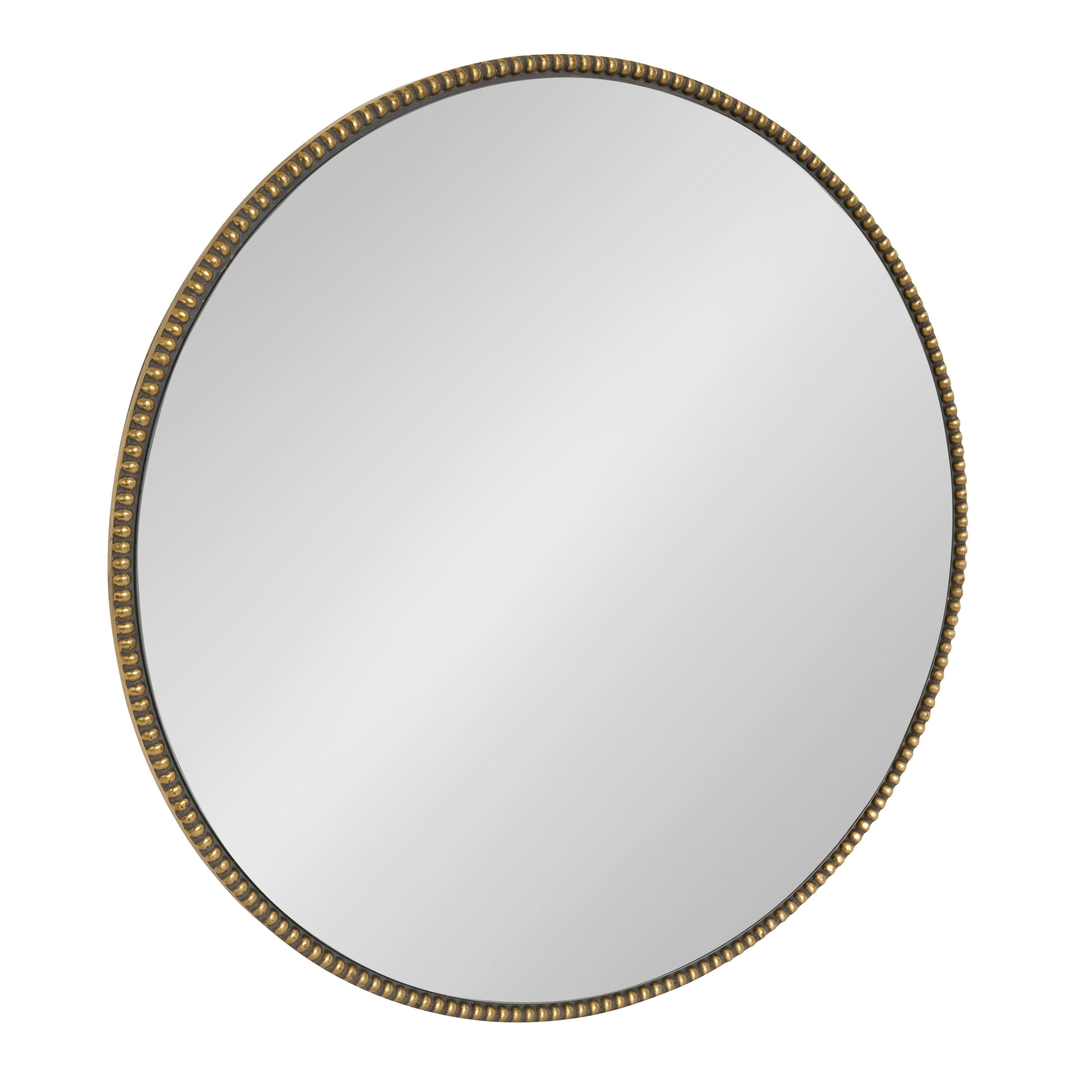 Shop Kate And Laurel Gwendolyn Round Beaded Accent Wall Intended For Beaded Accent Wall Mirrors (View 15 of 20)