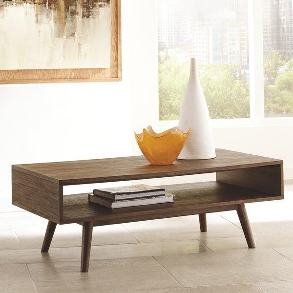 Shop Kisper Rectangular Cocktail Table – Dark Brown – On Inside Kisper Rectangular Cocktail Tables (Image 36 of 48)