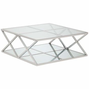 Shop Mirrored Coffee Table On Wanelo For Silver Orchid Olivia Chrome Mirrored Coffee Cocktail Tables (View 24 of 25)