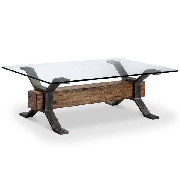 Featured Image of Sawyer Industrial Reclaimed Rectangular Cocktail Tables