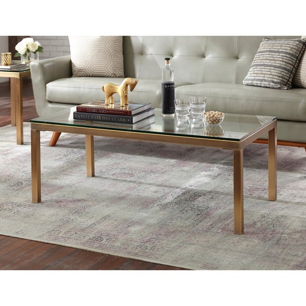 Featured Image of Simple Living Manhattan Coffee Tables