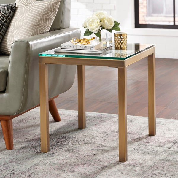Shop Simple Living Manhattan End Table – On Sale – Free In Simple Living Manhattan Coffee Tables (View 3 of 25)