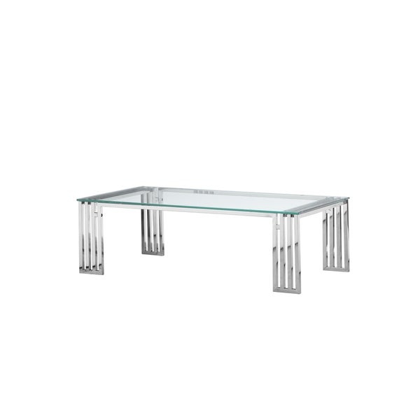 Shop Strick & Bolton Esther Coffee Table – Free Shipping With Strick & Bolton Florence Chrome Coffee Tables (Image 8 of 25)