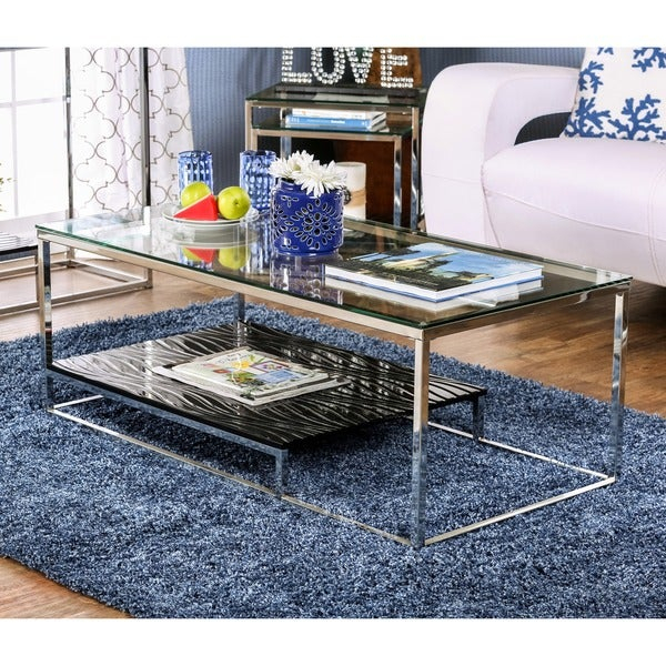 Featured Image of Strick & Bolton Florence Chrome Coffee Tables
