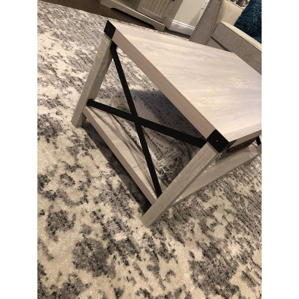 Shop The Gray Barn Kujawa Metal X Coffee Table – 40 X 22 X Inside The Gray Barn Kujawa Metal X Coffee Tables – 40 X 22 X 18H (View 11 of 25)