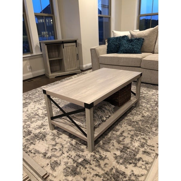 Shop The Gray Barn Kujawa Metal X Coffee Table – 40 X 22 X Within The Gray Barn Kujawa Metal X Coffee Tables – 40 X 22 X 18H (View 3 of 25)