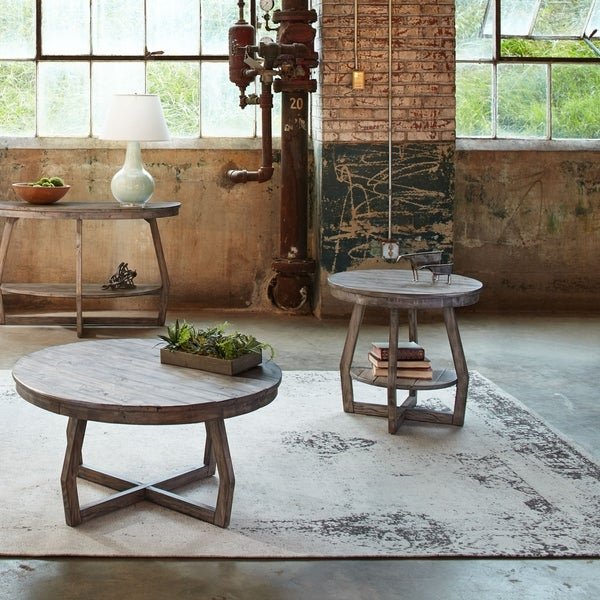 Shop The Gray Barn Rosings Park Grey Washed 3 Piece Inside The Gray Barn Rosings Park Grey Wash Cocktail Tables (View 6 of 25)
