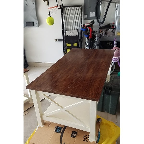 Shop Unfinished Solid Parawood Hampton Coffee Table – Free Regarding Unfinished Solid Parawood Hampton Coffee Tables (Image 16 of 25)