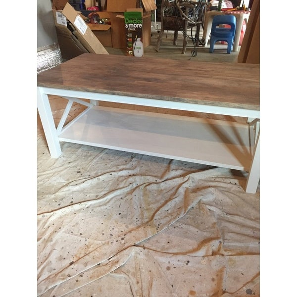 Shop Unfinished Solid Parawood Hampton Coffee Table – Free Within Unfinished Solid Parawood Hampton Coffee Tables (Image 19 of 25)