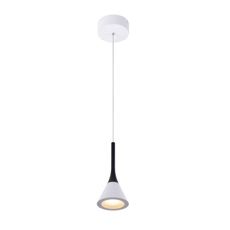 Shrock 1 Light Led Cone Pendant In 2019 | Lights | Lighting Intended For Barrons 1 Light Single Cylinder Pendants (View 13 of 25)