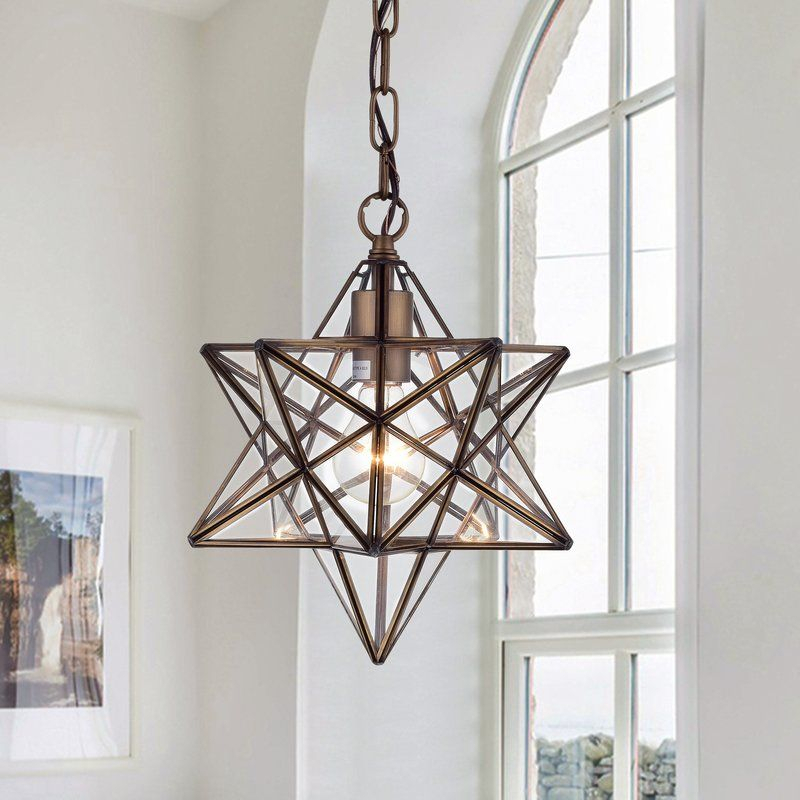 Shuler 1 Light Single Star Pendant | Home Design Ideas Inside 1 Light Single Star Pendants (Image 25 of 25)