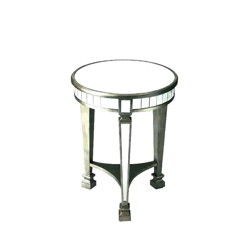 Silver End Table Round – Lavernrison (View 12 of 25)